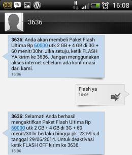 SMS dari Telkomsel