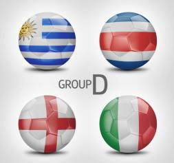 Grup D Piala Dunia 2014