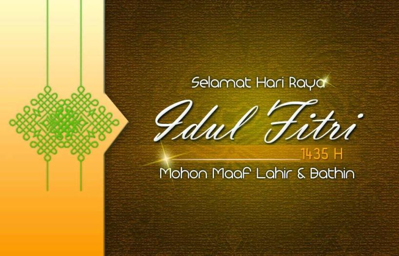 Selamat Hari Raya Idul Fitri 1435h Mivecblog Com