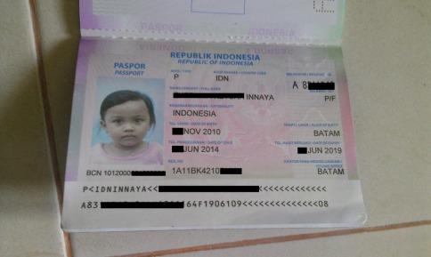 Paspor Anak Saya