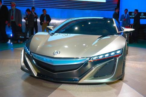 NSX Concept di Detroit Motor Show 2012