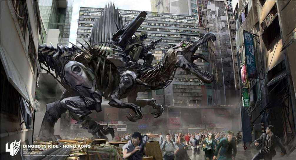 Dinobots Concept dari Transformers 4 : Age of Extinction ...