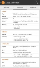 Spesifikasi Zenfone 5