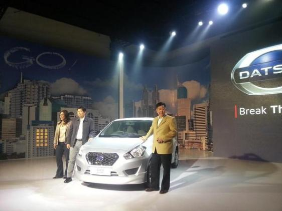 Launching Datsun Go Indonesia