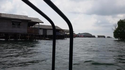 Rumah-rumah di Kampung Bugis Belakang Padang