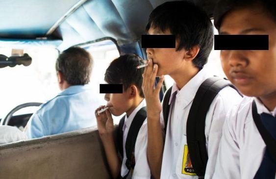 Anak SMP Merokok