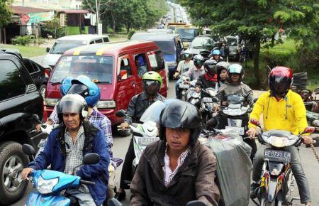 Kemacetan Panjang di Batam