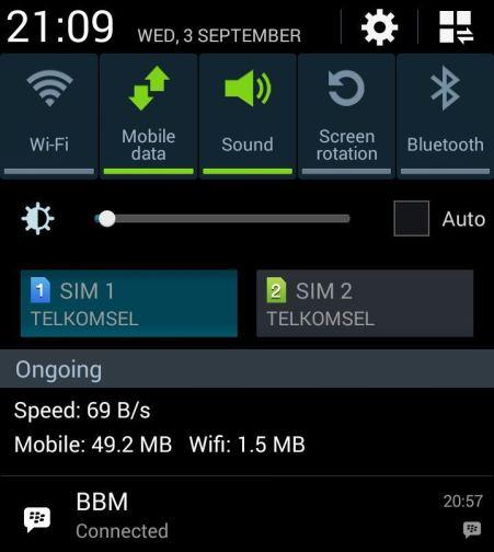 Mosok, Telkomsel hanya 69 BPs tok...