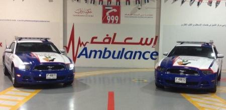 Ambulans Ford Mustang