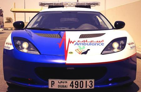 Ambulans Lotus Evora