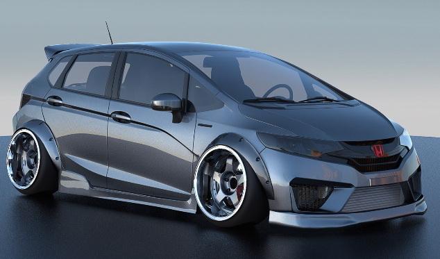 Modifikasi Honda Jazz/Fit di SEMA Show 2014. Pilih yang ...