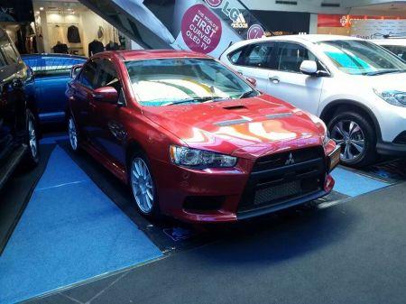 Lancer Evolution X GSR