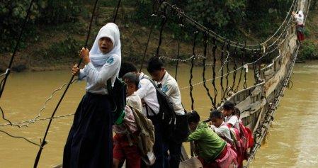 Jembatan Gantung di Indonesia