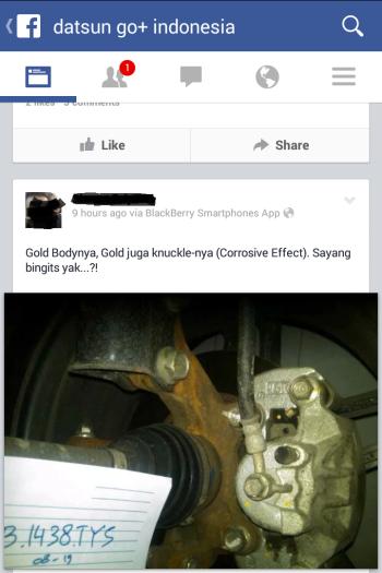 Keluhan salah satu pemilik Datsun Go+