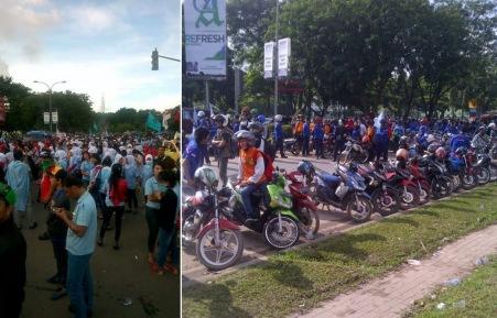 Demo di Mukakuning Batam, 26 Nov 2014