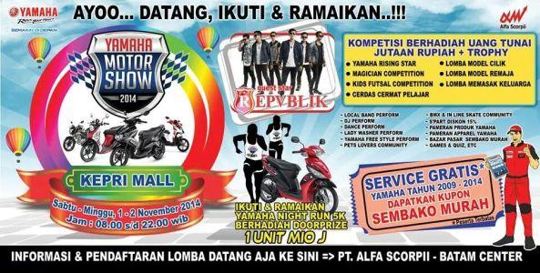 Yamaha Motor Show Batam 2014