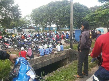 Demo Buruh Batam 26 November 2014