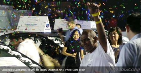 G Jaishanker - Pemenang Subaru Challenge 2014