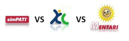 Simpati vs XL vs Mentari