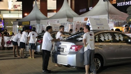 Subaru Challenge Singapore 2014