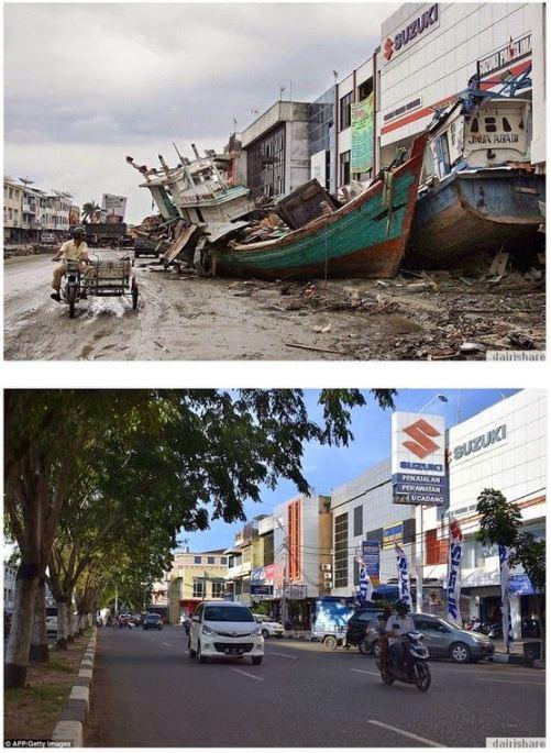 Aceh 10 tahun lau dan kini