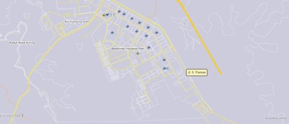 Jl. S Parman Piayu Batam