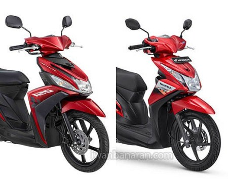 Honda Mio vs Yamaha Beat :D