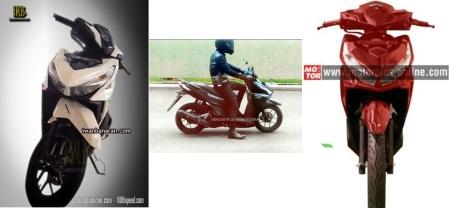 Berbagai Spyshot Honda Vario 150