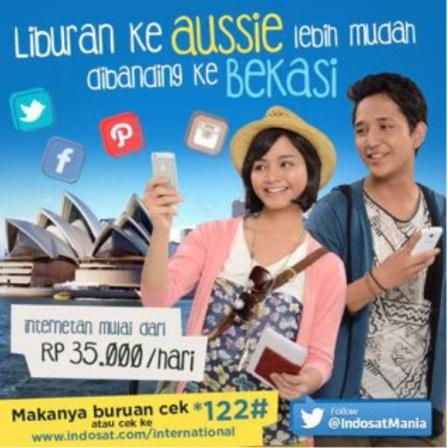 """Iklan Indosat """"Bekasi"""""""