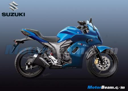 Rendering Suzuki Gixxer Full fairing aka GSX150R