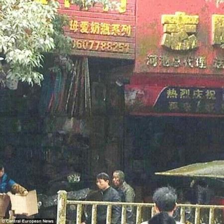 Truk Tinja Meledak di China