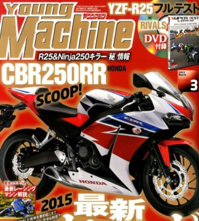 CBR250RR versi Young Machine
