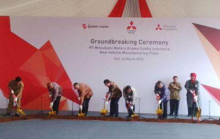 Ground Breaking Mitsubishi