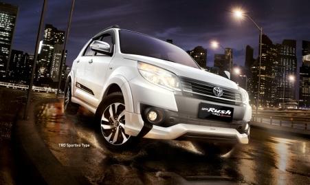 New Toyota Rush 2015