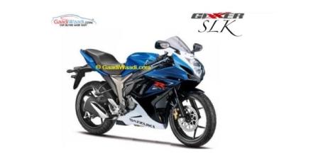 Rendering Suzuki Gixxer SLK