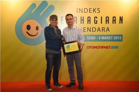 Penghargaan Indeks Kebahagiaan Berkendara (IKB)