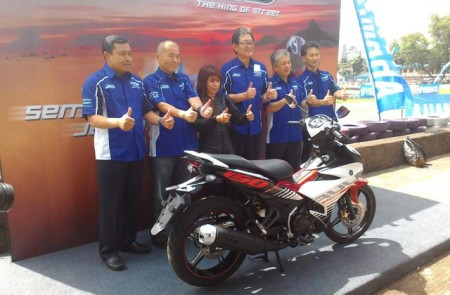 Peluncuran Yamaha MX King 150