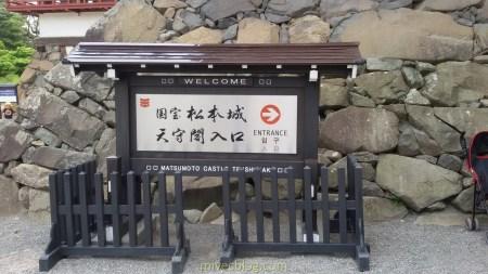 Pintu Masuk Matsumoto Castle