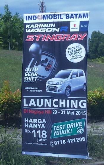 Launching Karimun Wagon R AGS Batam