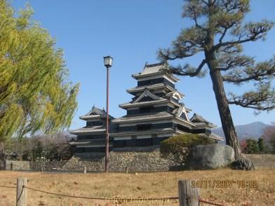 Matsumoto Castle Musim Gugur
