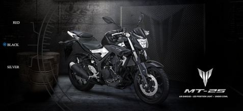Yamaha MT-25 Black