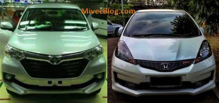 Avanza 2015 vs Jazz RS 2013