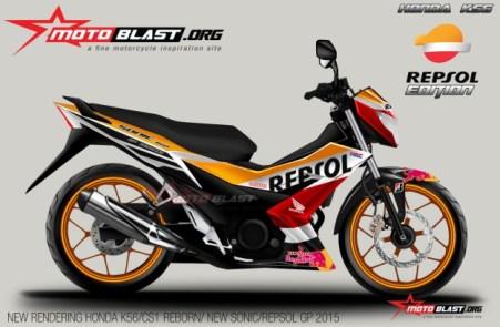 Rendering Sonic 150R by Motoblast.org