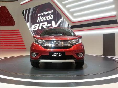 Honda HR-V Tampak Depan