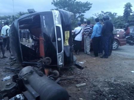 Salah satu kecelakaan Carry di Batam