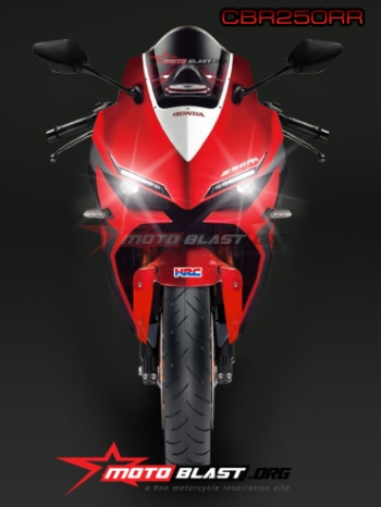 Rendering CBR250RR by Mas Joe Motoblast