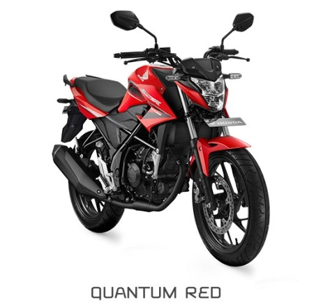 All New Honda CB150R Quantum Red