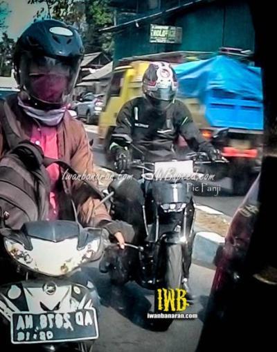 Spyshot Yamaha MT-15 di Jakarta