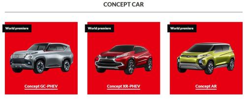 Mitsubishi Concept Car in Tokyo Motor Show 2013