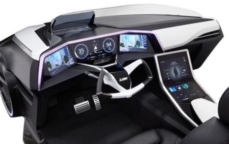 Interior Mitsubishi Emirai 3 xDAS CONCEPT